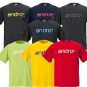 【ネコポス送料無料】アンドロ(andro) ナパTシャツ 4 全7色 卓球ウェア [M便 1/2]