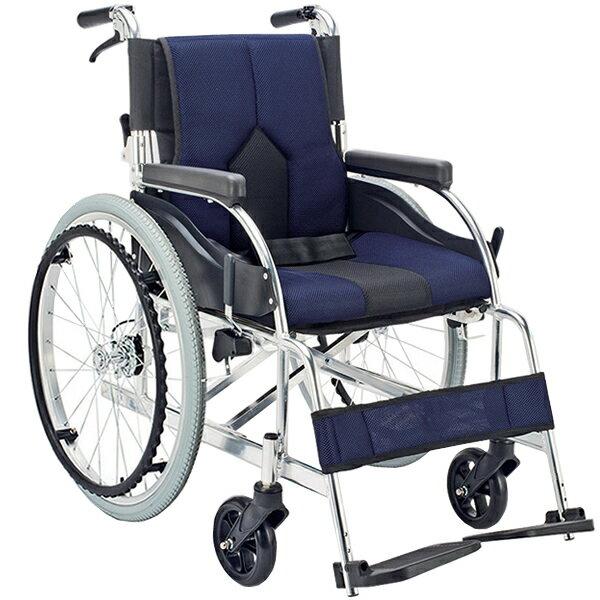 車椅子 軽量 折り畳み マキテック (マキライフテック) カラーズ KC-1 車いす 車イス 介護用品