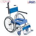 車椅子 軽量 折り畳み MiKi ミキ お風呂用 シャワーキャリー MH-43 車いす 車イス 介護用品 送料無料
