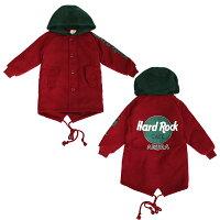 3カラーフード付きコートアウタージャンパーキッズジュニアジャケット冬ブルゾンワインレッドブラウンネイビー通園通学100cm110cm120cm130cm140cm150cm子供服yuai