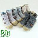 Rin Clover(リンクローバー)/ボタンアクセントブーツ カジュアル サイドジップ ショートブーツ レディース【送料無料】