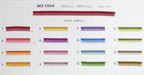 No.1544 木馬刺しゅう用リボン ぼかしピコット【1m単位】(お取り寄せ)【RCP】