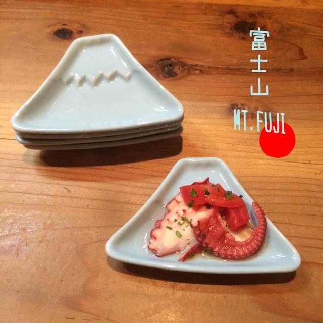 【送料無料】富士山 箸置き【訳あり】小皿 しょう油皿,漬物皿,豆皿 (全2色)5枚セット アウトレット