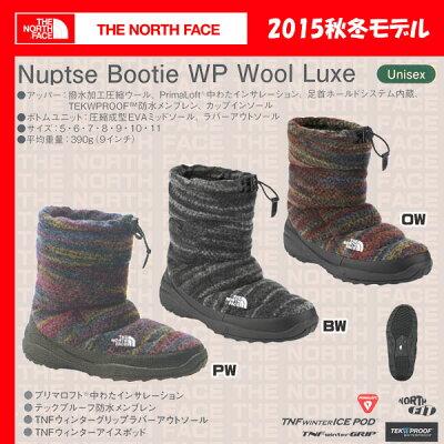 THENORTHFACENUPTSEWaterProofLUXE【ザノースフェイス】/NF51593【TNF_2015FW】