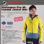 MAMMUT�ڥޥࡼ�ȡ�AconcaguaProMLHoodedJacketMen���顼��sunglow-chill.M(1192)