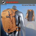 【マムート】MAMMUTNirvanaRide30Lカラー:woodchip