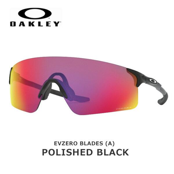 スポーツウェア・アクセサリー, スポーツサングラス  OAKLEY EVZERO BLADES (A) Polished Black Prizm Road oky-sp