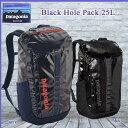 Patagonia パタゴニア リュック デイパック トレスパック25L Black Hole Pack 25L