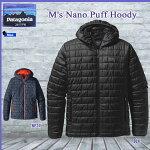 Patagoniaパタゴニアジャケット男性用ナノパフフーディM'sNanoPuffHoody