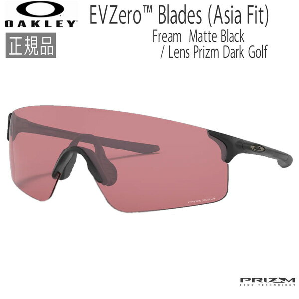 スポーツウェア・アクセサリー, スポーツサングラス  OAKLEY EVZERO BLADES (A) Matte Black Prizm Dark Golf
