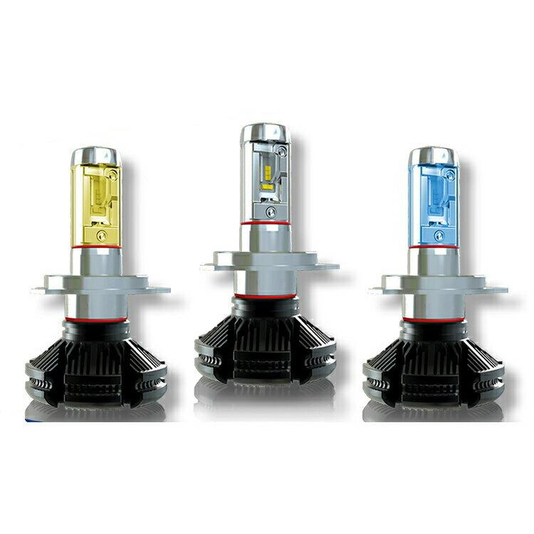 ライト・ランプ, ヘッドライト DAIHATSU H2.6H9.3 F300S H4 HiLo X3 LED 6000Lm 3000K6500K8000K 2