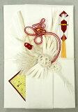 結納屋さんの金封【ご結婚・一般御祝】10〜100万円に最適 祝儀袋HM292【鶴・白:短冊】
