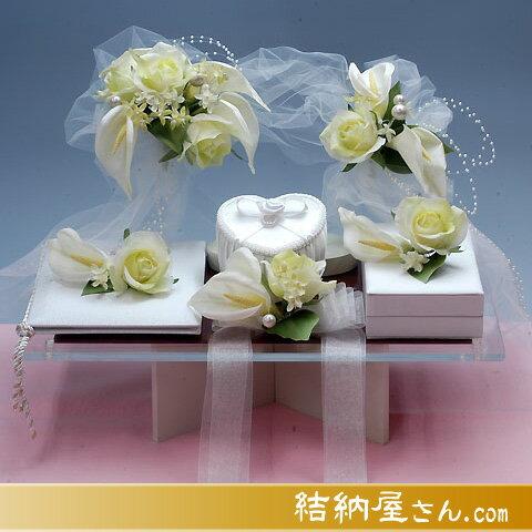 結納-略式結納品- Flora Lovelyセット(毛せん付)
