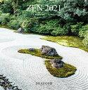 ドレジャー 2021年【ラージカレンダー】ZEN(壁掛けタイプ)花/風情/優雅/風景/自然/イラスト/スケジュール/月曜始まり/日本語/英語/フランス製/中国印刷/輸入雑貨(21LC-012)[FSC認証]