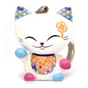 キーホルダー 招き猫 MANICAT(マニキャット) (MLCK012)キーリング付き/幸運/金運/縁起物/かわいい/おしゃれ/ドール/フィギュア/置物/インテリア/ギフト/プレゼント/輸入雑貨