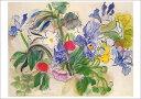 ポストカード 【アート】デュフィ「アイリスとポピーの花束」【148×105mm】(VD8736)