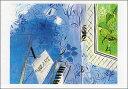 ポストカード 【アート】 デュフィ「モーツァルトに捧ぐ」【150×105mm】(HZN498)