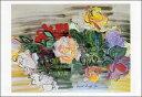 ポストカード 【アート】 デュフィ「バラ」【150×105mm】(HZN3597)