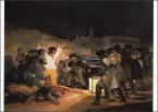 ポストカード 【アート】 ゴヤ「1808年5月3日、マドリードにて」【148×105mm】(VD5328)