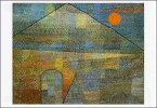 ポストカード 【アート】 クレー「パルナッソス山へ」【150×105mm】(HZN1582)