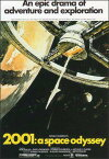 ポストカード 【シネマ】「2001年宇宙の旅」(SF/ファンタジー映画)