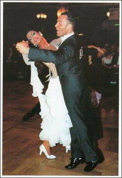 ポストカード 【カラー写真】BLACKPOOL FINALISTS('99)Massimo Giorgianni & Alessia Manfredini