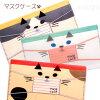 【猫のマスクケース】薄型コンパクトなマスクケース★DaYLivelY【デコレ】(三毛猫白猫ハチワレ猫マスク入れ猫雑貨ネコグッズキャット)