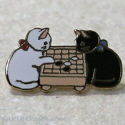 囲碁の猫ピンズ