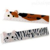 猫型 定規 mimi-RULER【サカモト】(三毛猫 アメショー ものさし ルーラー 猫雑貨 ねこ雑貨 ネコ雑貨 猫グッズ ねこグッズ ネコグッズ キャット)EC