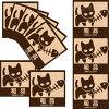 IconCat(やんちゃな子猫シリーズ)ねこケアマークシール【粗品】(パロディシール猫雑貨ネコグッズ)