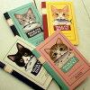 猫のミニノートフェリシモ猫部(白黒キジトラサバトラチャトラ猫雑貨ネコグッズねこキャット)EC