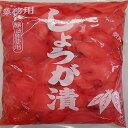 中国産 酢漬けしょうが 紅平切 1kg×10P(P780円税別)業務用 ヤヨイ