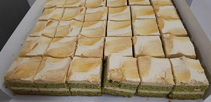 洋菓子 シートケーキカット(黒蜜抹茶)54個×10P(P1560円税別) 業務用 冷凍 ヤヨイ