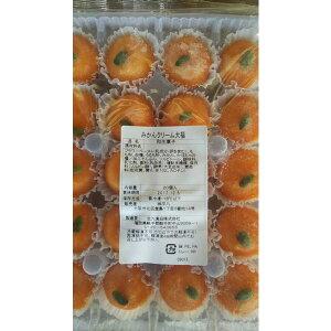 冷凍和生菓子 ミニみかんクリーム大福 20個(個30円税別)×28パック 業務用 ヤヨイ