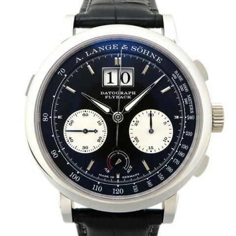 ランゲ&ゾーネ A.LANGE&SOHNE ダトグラフ アップダウン 405.035 ブラック文字盤 メンズ 腕時計 【新品】