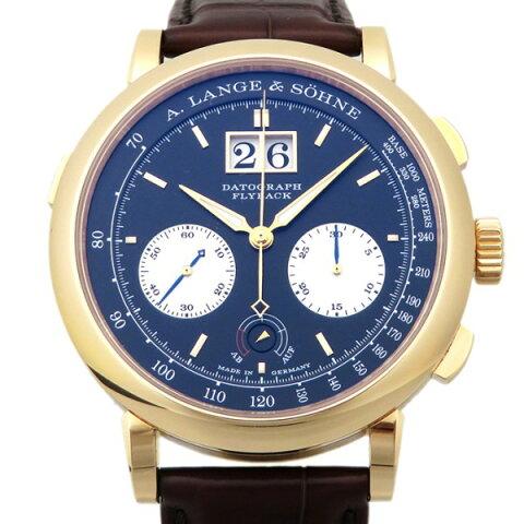 ランゲ&ゾーネ A.LANGE&SOHNE ダトグラフ アップダウン 405.031 ブラック文字盤 メンズ 腕時計 【新品】