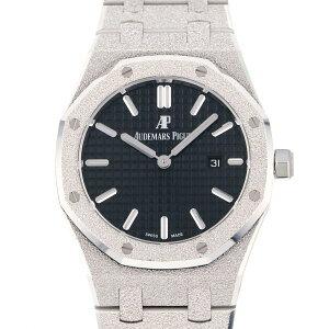 オーデマ・ピゲ AUDEMARS PIGUET ロイヤルオーク フロステッドゴールド 67653BC.GG.1263BC.02 ブラック文字盤 新品 腕時計 レディース