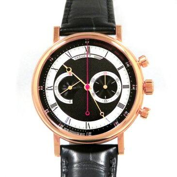 ブレゲ BREGUET クラシック クロノグラフ 5287BR/92/9ZU ブラック文字盤 メンズ 腕時計 【新品】