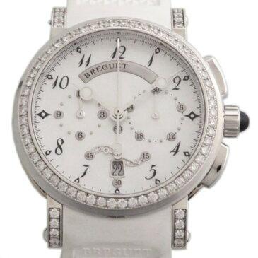 ブレゲ BREGUET マリーン ベゼルダイヤ 8828BB/5D/586DD ホワイト文字盤 レディース 腕時計 【新品】