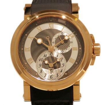 ブレゲ BREGUET マリーン GMT 5857BR/Z2/5ZU グレー/シルバー文字盤 メンズ 腕時計 【新品】