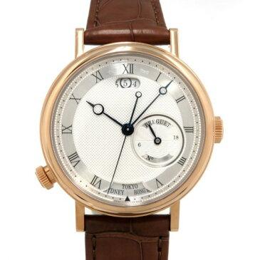 ブレゲ BREGUET クラシック オーラ ムンディ 5727BR/12/9ZU シルバー文字盤 メンズ 腕時計 【新品】