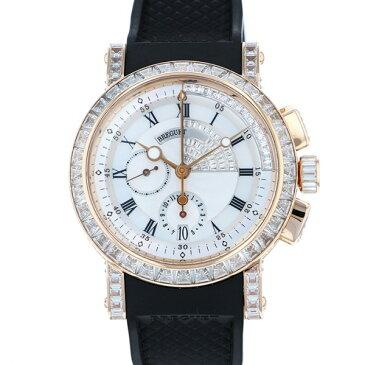 ブレゲ BREGUET マリーン 5829BR/8D/9ZU DD0D ホワイト文字盤 メンズ 腕時計 【中古】