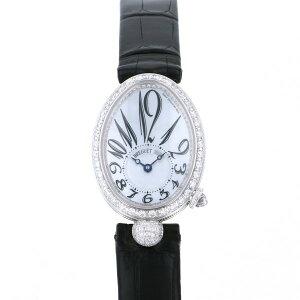 Breguet那不勒斯皇后迷你8928BB/5W/944 DD0D白色表盘新款腕表女士