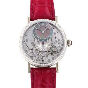 Breguet(Breguet)传统女士7038 7038BB/1T/9V6/D00D银色/黑色表盘New Watch女士