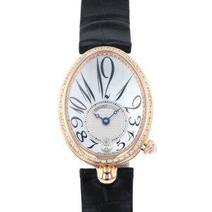 ساعة بريجيت بريجيت ملكة نابولي 8918BR / 58/964 D00D مينا بيضاء للسيدات [جديد]
