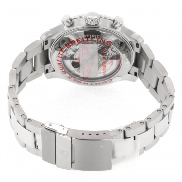 ブライトリングBREITLINGアビエーター8B01クロノグラフ43カーチスウォーホークA008L-1PSSカーキ文字盤新品腕時計メンズ