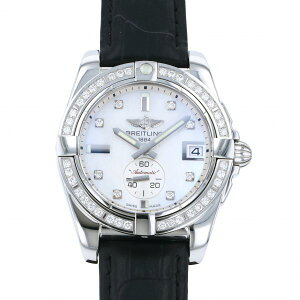 Breitling BREITLING Other Galactic 36 A3733053/A717 White Dial Ladies Watch [Used]