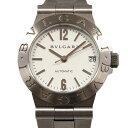 ブルガリ BVLGARI ディアゴノ LCV29WSSD ホワイト文字盤 レディース 腕時計 【中古 ...