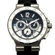 ブルガリ BVLGARI ディアゴノ カリブロ303 DG42BSLDCH ブラック/シルバー文字盤 メンズ 腕時計 新品
