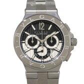 ブルガリ BVLGARI ディアゴノ カリブロ303  DG42BSSDCH ブラック文字盤 メンズ 腕時計 【新品】